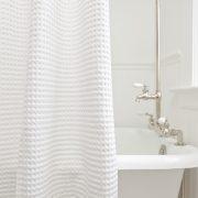 terry cloth shower curtain. additional showerCurtain cotton waffle  180x180 jpg