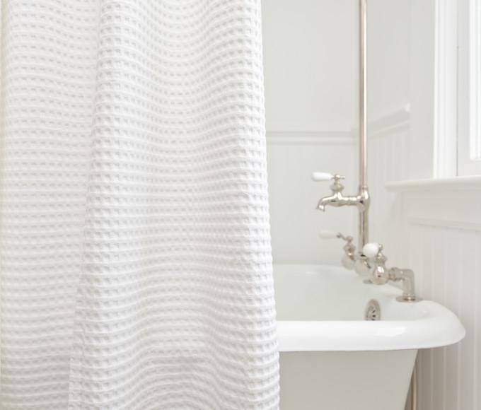 Additional ShowerCurtain Cotton Waffle