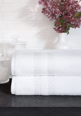 Mini Squares Bath Towels