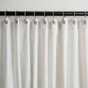 Shower Curtain Grey Stripe