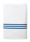 Pool Towel with Blue Stripes