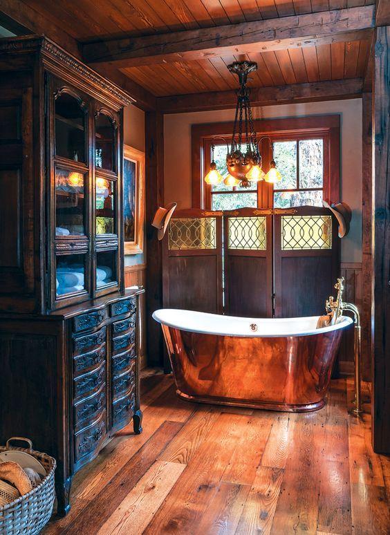 wood-bath